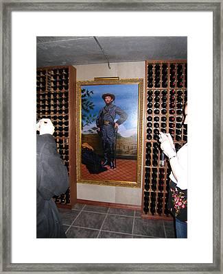 Vineyards In Va - 121273 Framed Print by DC Photographer