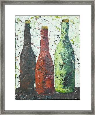 Vino 2 Framed Print