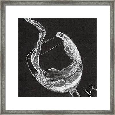 Vino Framed Print by Jose Hernandez