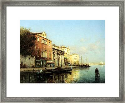 Vinse Framed Print by Marc Aldine