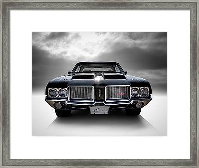 Vintage 442 Framed Print by Douglas Pittman