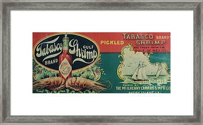Vintage Advertisement Framed Print