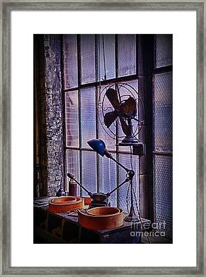 Vintage Air Conditioning Framed Print