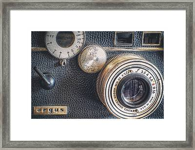 Vintage Argus C3 35mm Film Camera Framed Print