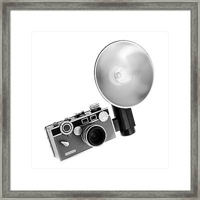 Vintage Argus C3  Framed Print by Jim Hughes