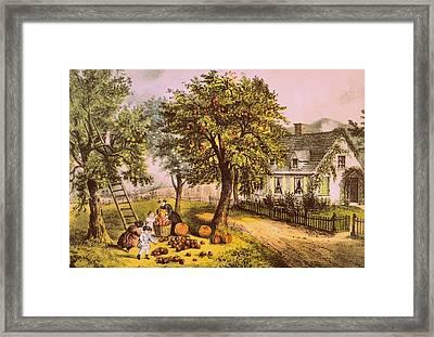 Vintage Art Framed Print by JAMART Photography