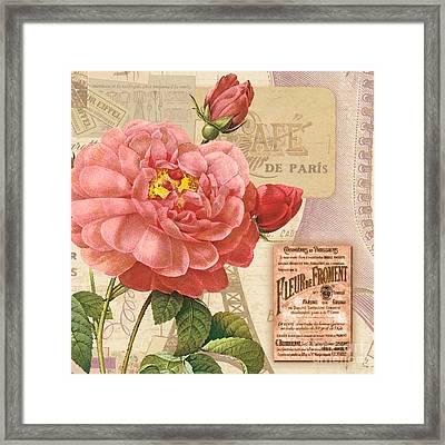 Vintage Botanical II Framed Print by Marilu Windvand