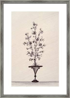 Vintage Bouquet Framed Print by Christine Corretti