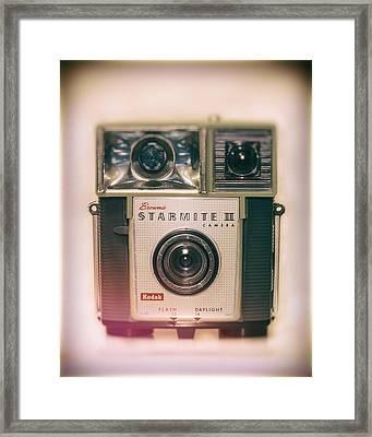 Vintage Brownie Starmite Camera Framed Print