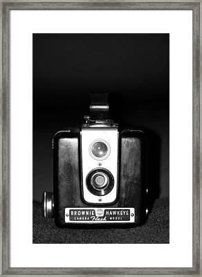 Vintage Camera Framed Print by Cynthia Guinn