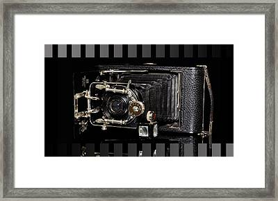 Vintage Camera Ernemann Framed Print by Tommytechno Sweden