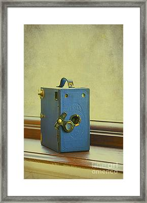 Vintage Camera Framed Print by Svetlana Sewell