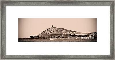 Vintage Cape Cornwall Framed Print