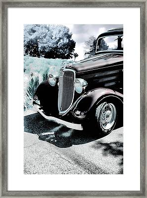 Vintage Ford Car Art 1 Framed Print by Lesa Fine