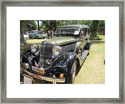 Vintage Car  Framed Print by Max Lines