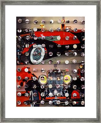 Vintage Cars1 Framed Print by Irmari Nacht