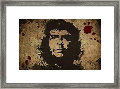 Vintage Che Framed Print
