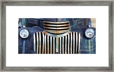Vintage Chevrolet 005 Framed Print by Robert ONeil