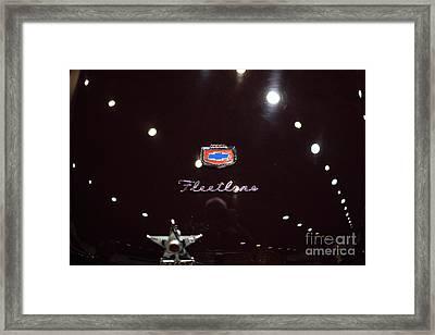 Vintage Chevrolet Fleetline - 5d20244 Framed Print