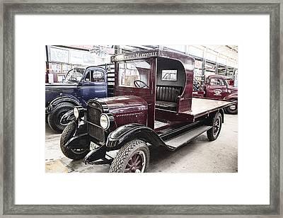Vintage Chevrolet Pickup Truck Framed Print by Douglas Barnard