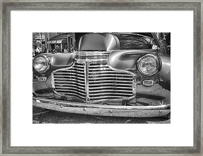 Vintage Chevrolet Framed Print by Theresa Tahara