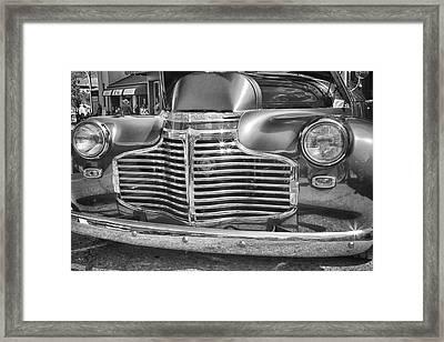 Vintage Chevrolet Framed Print