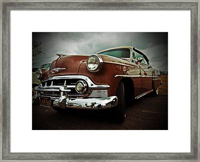 Framed Print featuring the photograph Vintage Chrysler by Gianfranco Weiss