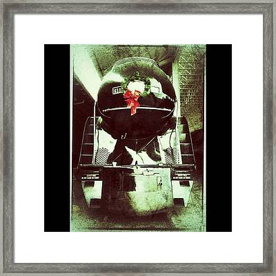 Vintage Class J Locomotive At The Framed Print