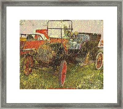 Vintage Classic Automobile Framed Print