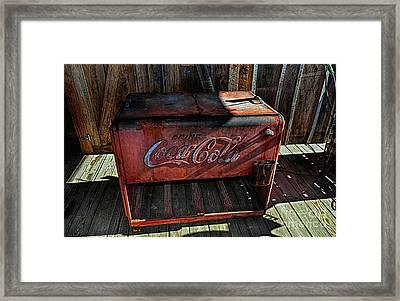 Vintage Coca-cola Framed Print by Paul Mashburn