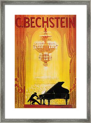 Vintage Concert Poster 1920 Framed Print by Mountain Dreams