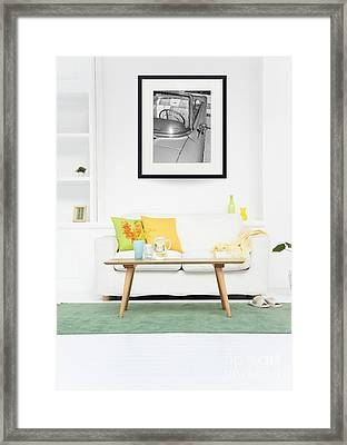 Vintage Convertible Example Framed Print