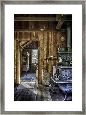 Vintage Cracker Kitchen Framed Print by Lynn Palmer