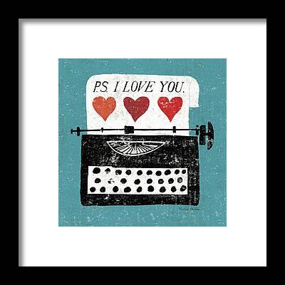 Typewriter Framed Prints