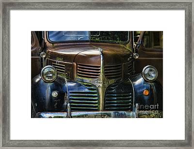 Vintage Dodge Framed Print by Mark Newman