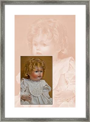 Vintage Doll Beauty Art Prints Framed Print