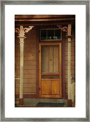 Vintage Doorway Framed Print