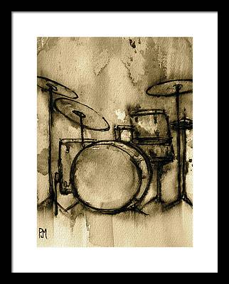 Drum Framed Prints