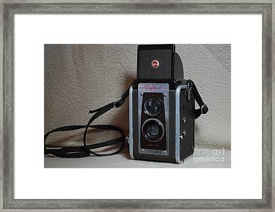 Vintage Duaflex Iv Camera Framed Print