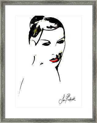 Vintage Features Framed Print by Sean Roderick