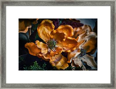 Vintage Feel Framed Print