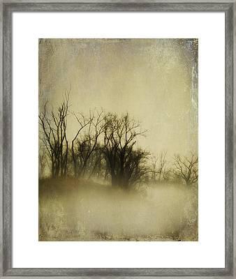 Vintage Fog Framed Print