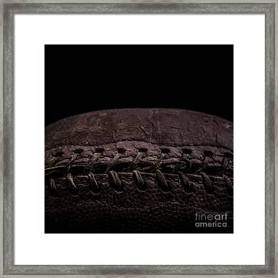 Vintage Football Square Format Framed Print