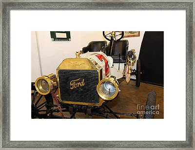 Vintage Ford Model T Racer 5d25613 Framed Print by Wingsdomain Art and Photography