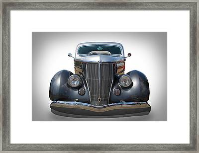 Vintage Ford Framed Print by Peter Tellone