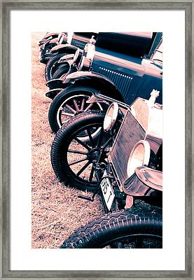 Vintage Fords Framed Print by Phil 'motography' Clark