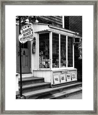 Vintage Gift Shop Fine Art Print Framed Print by Retro Images Archive