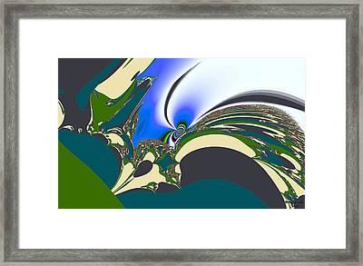 Vintage Grafix Framed Print