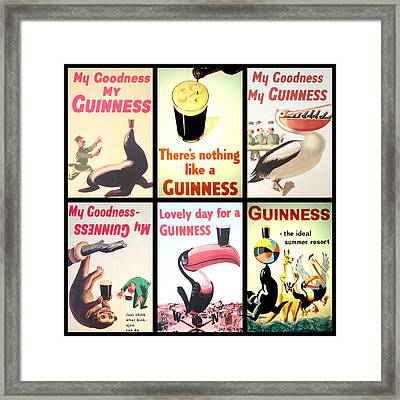 Vintage Guinness  Framed Print