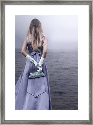 Vintage Handbag Framed Print by Joana Kruse
